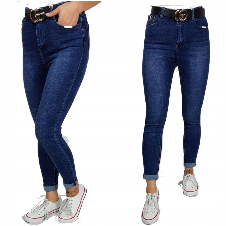 Denim Life Spodnie Jeansowe Klasyczne Rozmiar 46