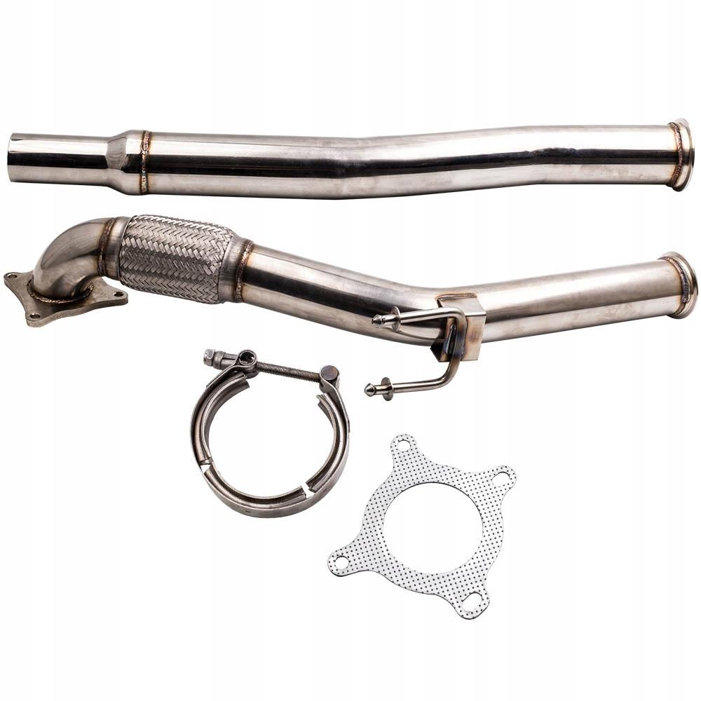 3 '' Турбо выхлопная труба для VW Golf Mk5 Skoda