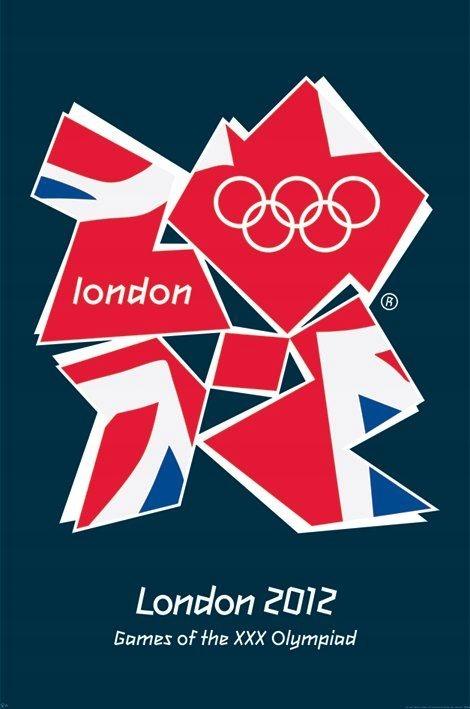 London 2012 Олимпийский Флаг-Плакат 61x91,5 SALE!