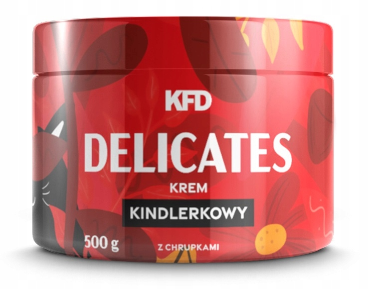 KFD DELICATES - KREM KINDLERKOWY Z CHRUPKAMI 500 G