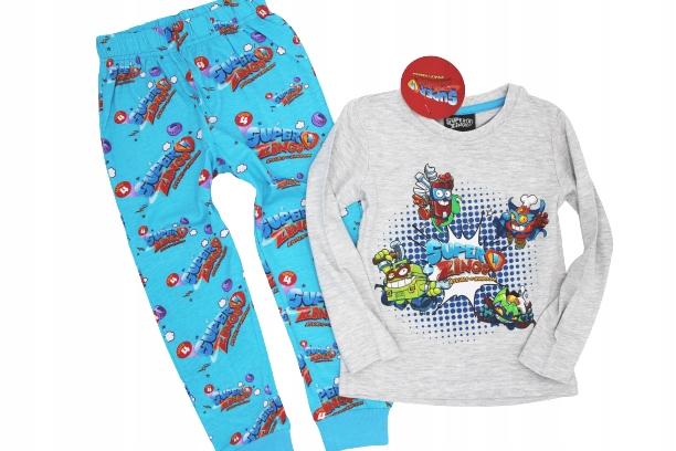 Pyžamo Super Zings 4 roky s dlhým rukávom 104