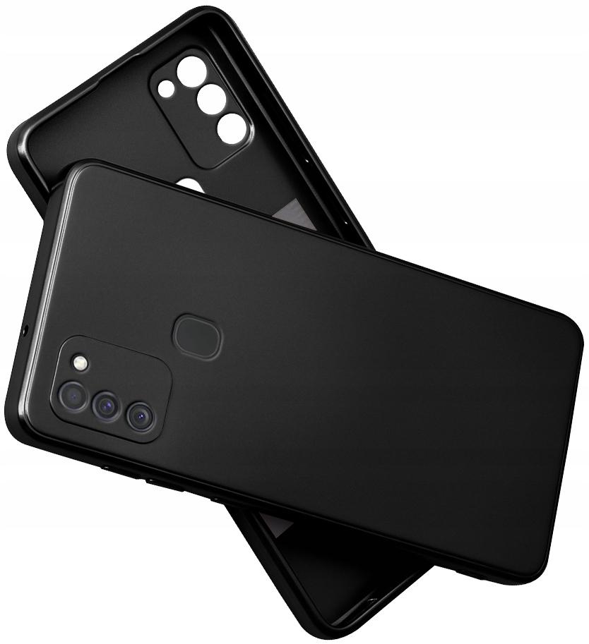 Etui do Samsung Galaxy M21 SILIKON CASE + SZKŁO 9H