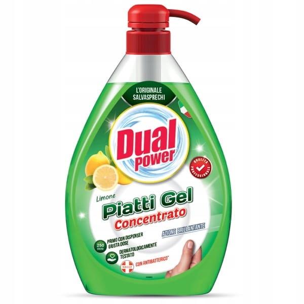 Dual Power Лимон - Концентрат для мытья посуды 1Л