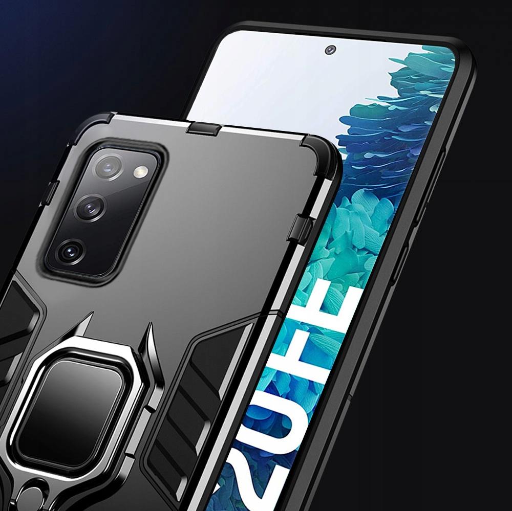 Etui do Samsung Galaxy S20 FE Pancerne Ring Szkło Kod producenta B18A