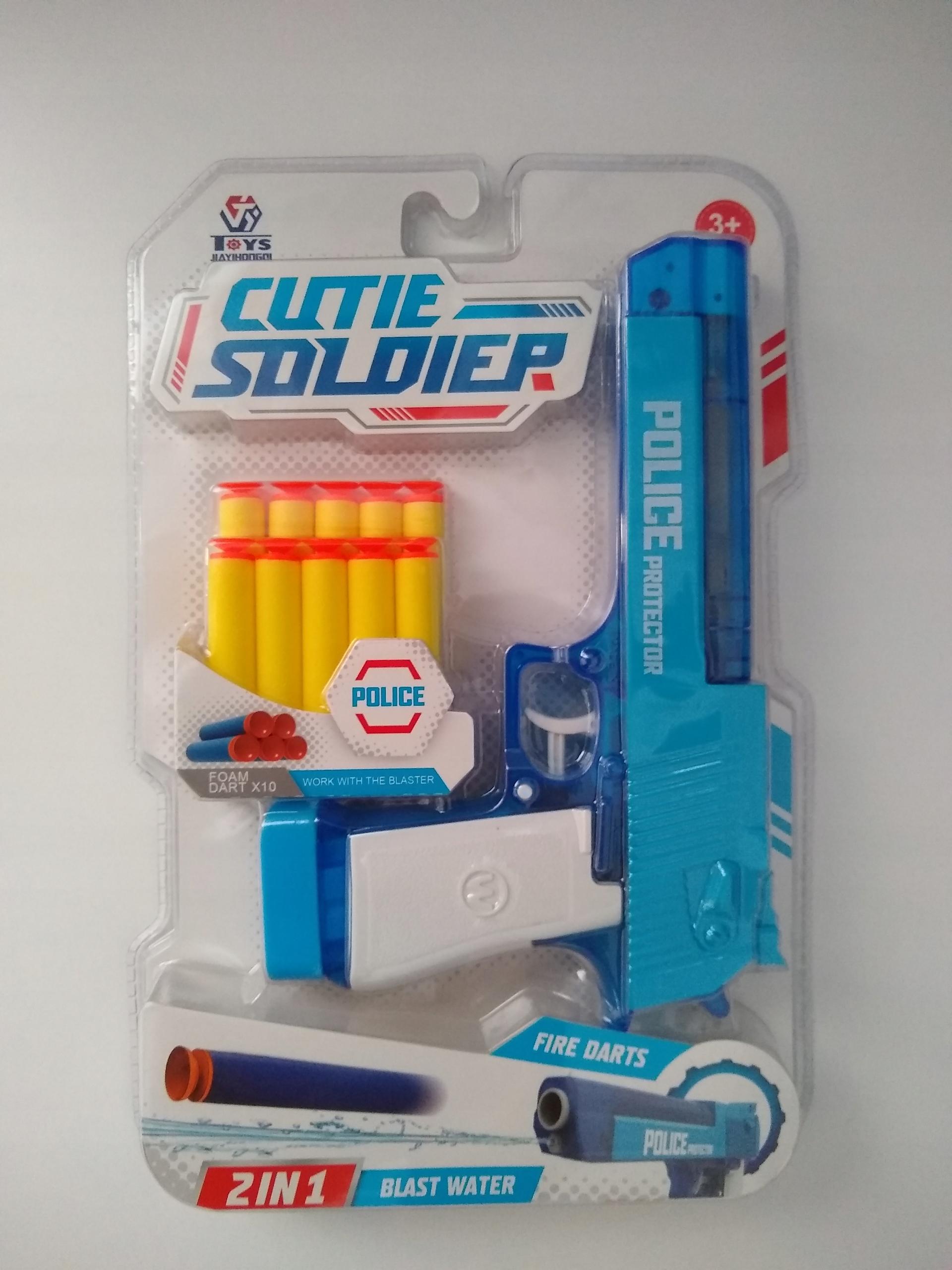 Šípková pištoľ NERF a vodná pištoľ 2v1