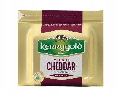 Ser Kerrygold Red CHEDDAR porcja 200g.