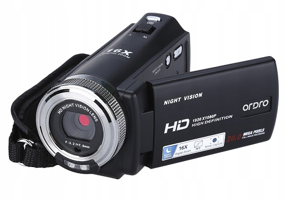 Kamera Cyfrowa Ordro HDV-V12 Full Hd Z Pilotem