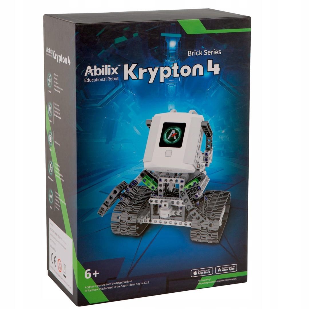 Abilix Криптон 4 - робот СТЭМ - 1,3 Ггц 426 тормозных