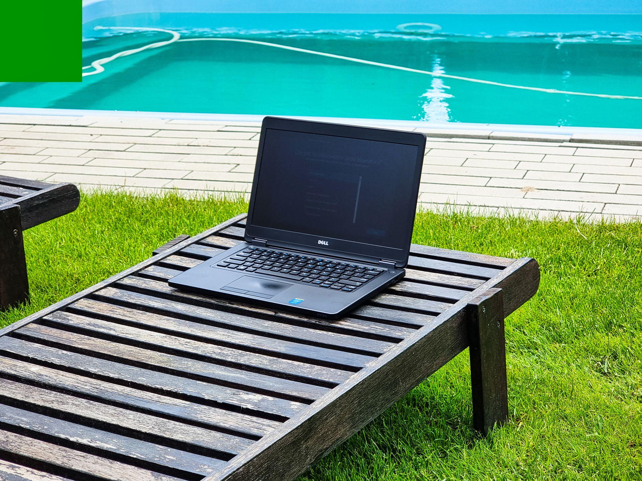 """Laptop Dell Latitude E5450 14"""" 8GB 240SSD W10"""