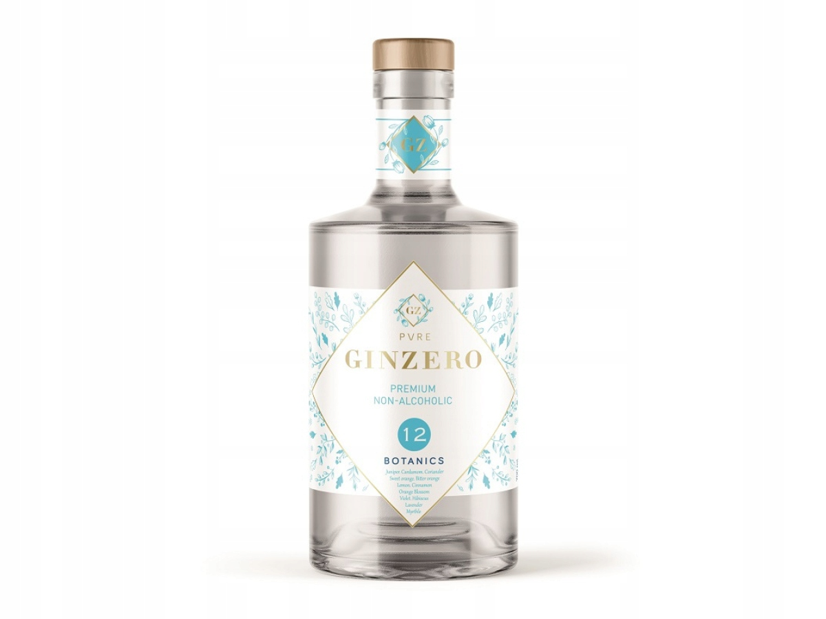 GINZERO 12 BOTANICS - 12 трав - джин безалкогольный
