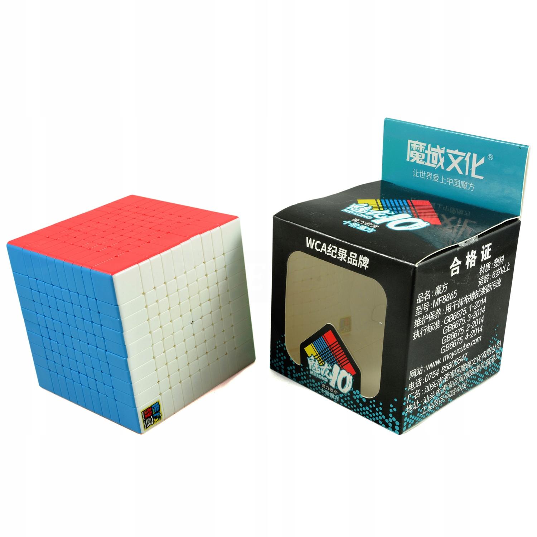 Kocka 10x10x10 MoYu MoFang JiaoShi MeiLong Color