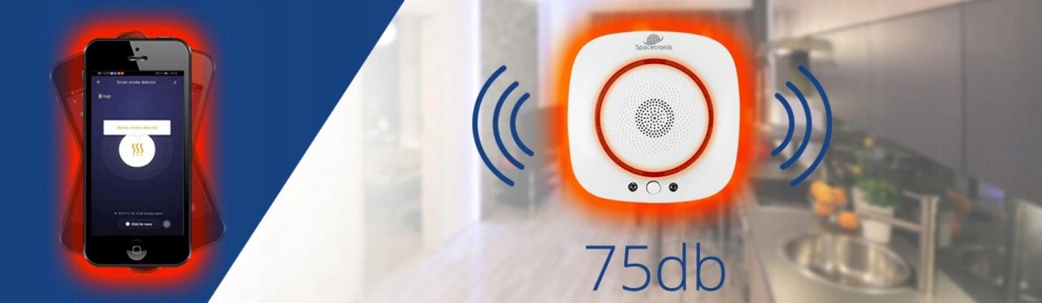 Inteligentna czujka gazu LPG Wi-Fi Tuya smartlife Kod produktu SL-DG01