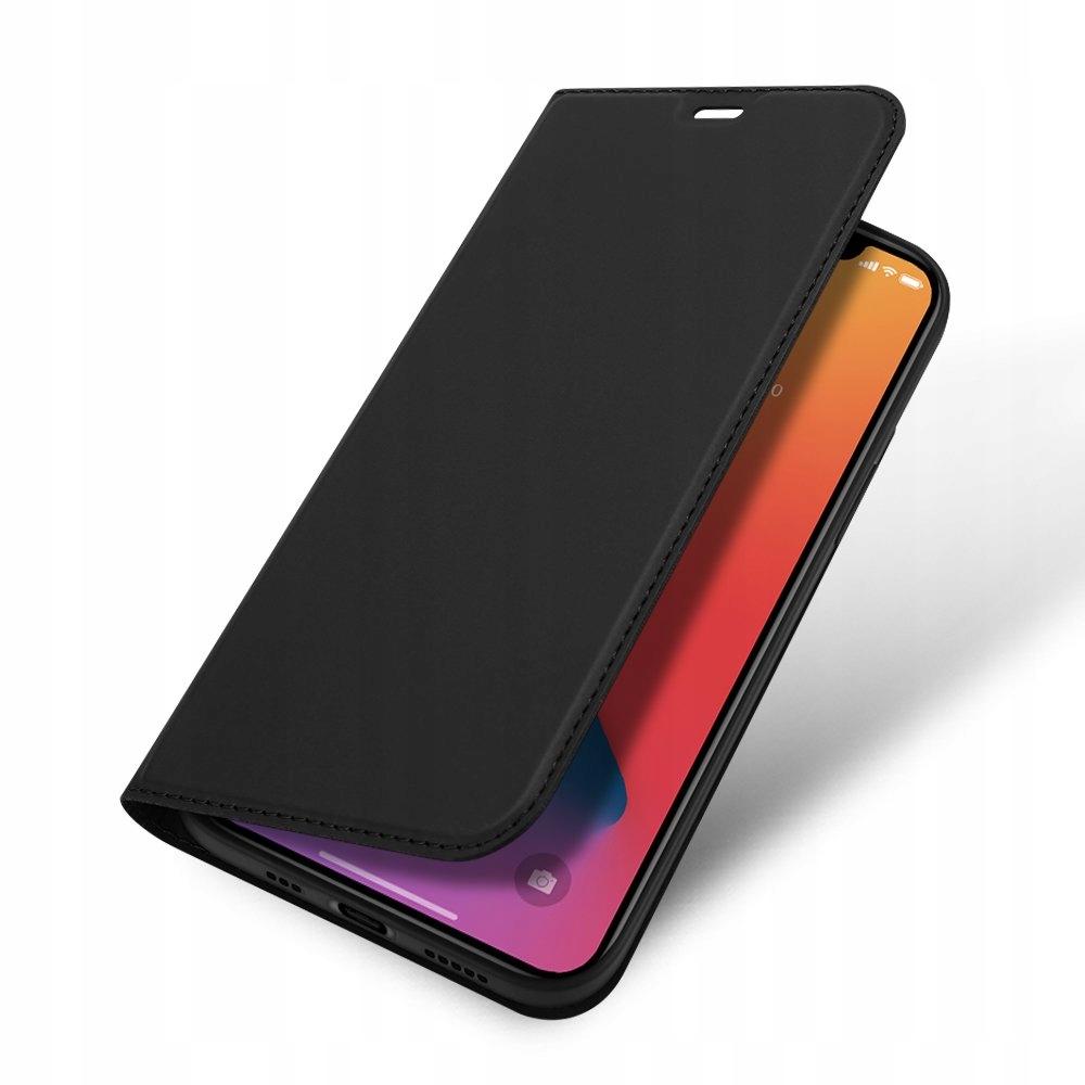 Etui DUX DUCIS + szkło do iPhone 12 / 12 Pro Kolor czarny