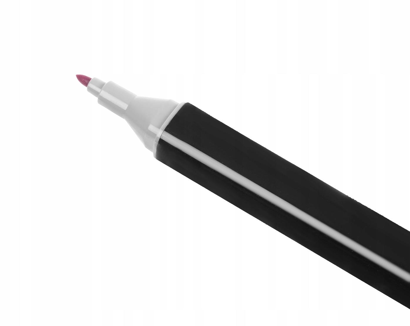 Markery Kolorowe Zakreślacze Pisaki Dwustronne x40 Płeć chłopcy Dziewczynki
