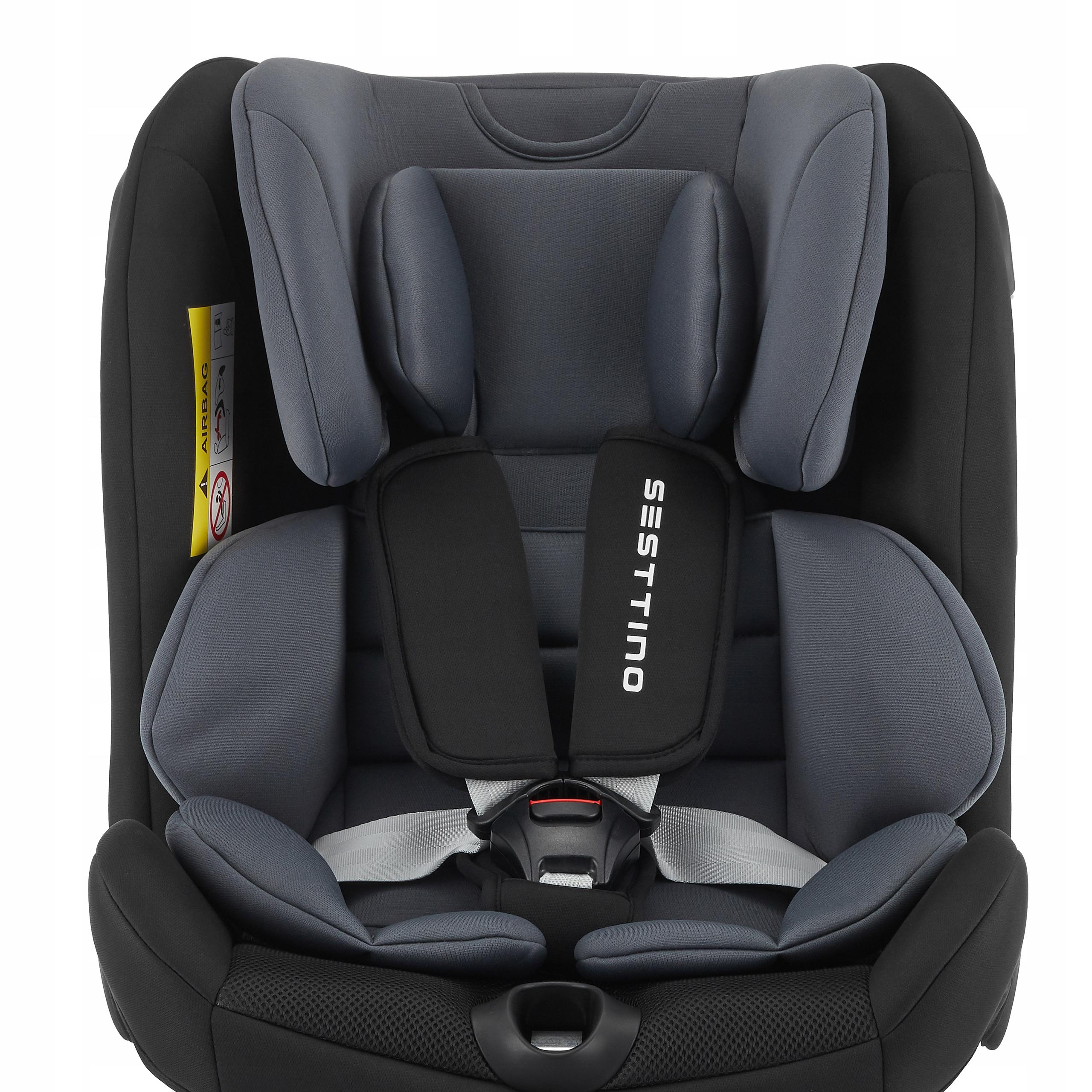 Fotelik Samochodowy Sesttino Route ISOFIX 0-36kg Sposób montażu samochodowy pas bezpieczeństwa ISOFIX