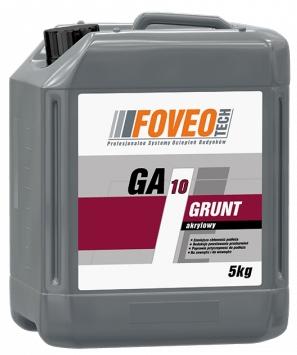 Grunt Akrylowy GA 10 pod Farbę Fasadową FOVEO 5L
