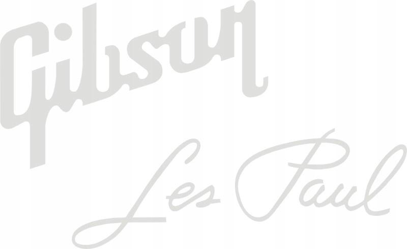 Gibson Les Pau Biele GRYF GUITAR GUITAR LIKVOSTI 546