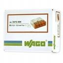 Быстроразъемное соединение WAGO 2273-204 0,5-2,5 мм² 4 100 шт.