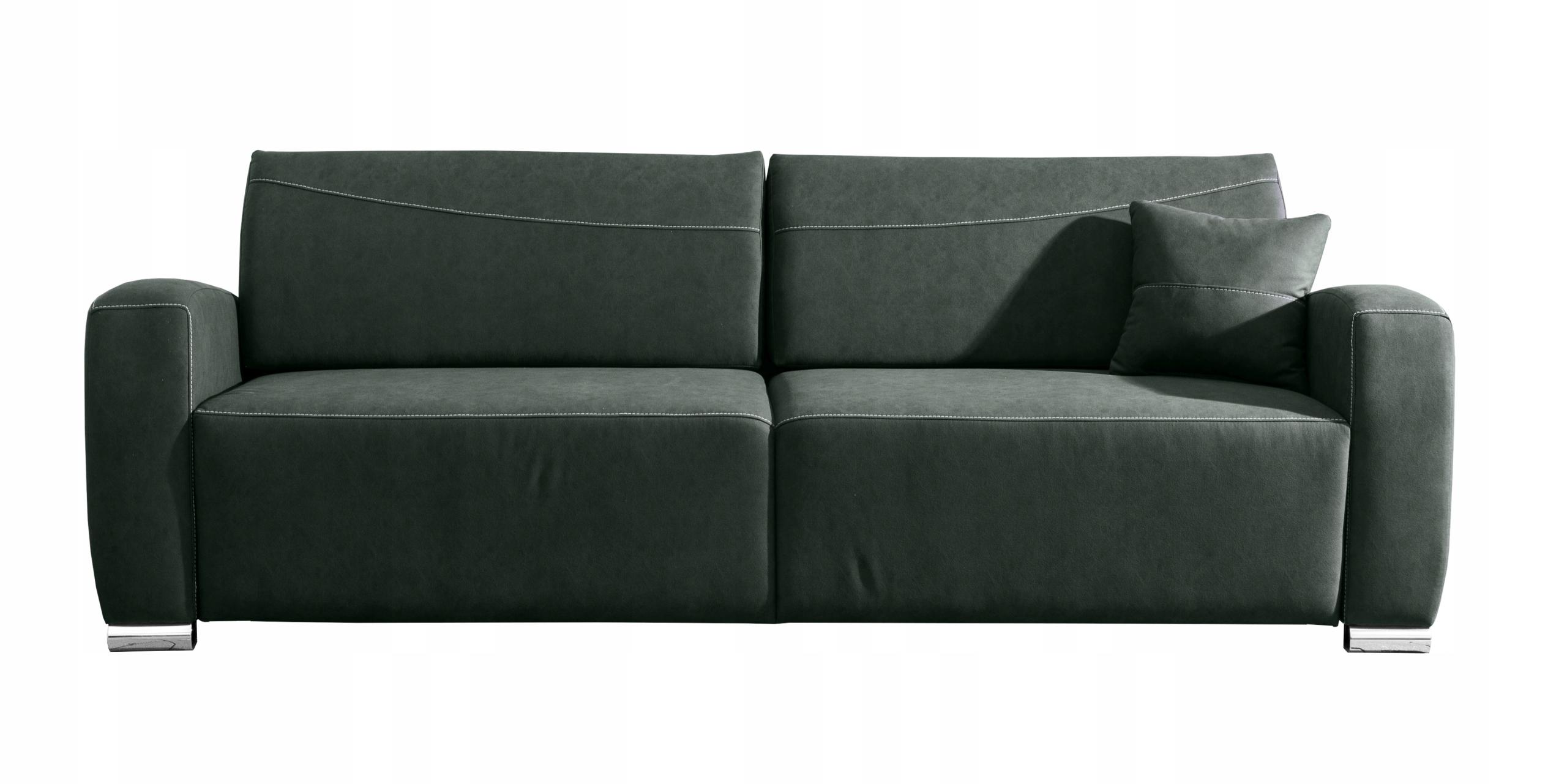 RENO LUX stilvolles Sofa für das Wohnzimmer / f. Schlafen / Farben Die Tiefe der Möbel 97 cm
