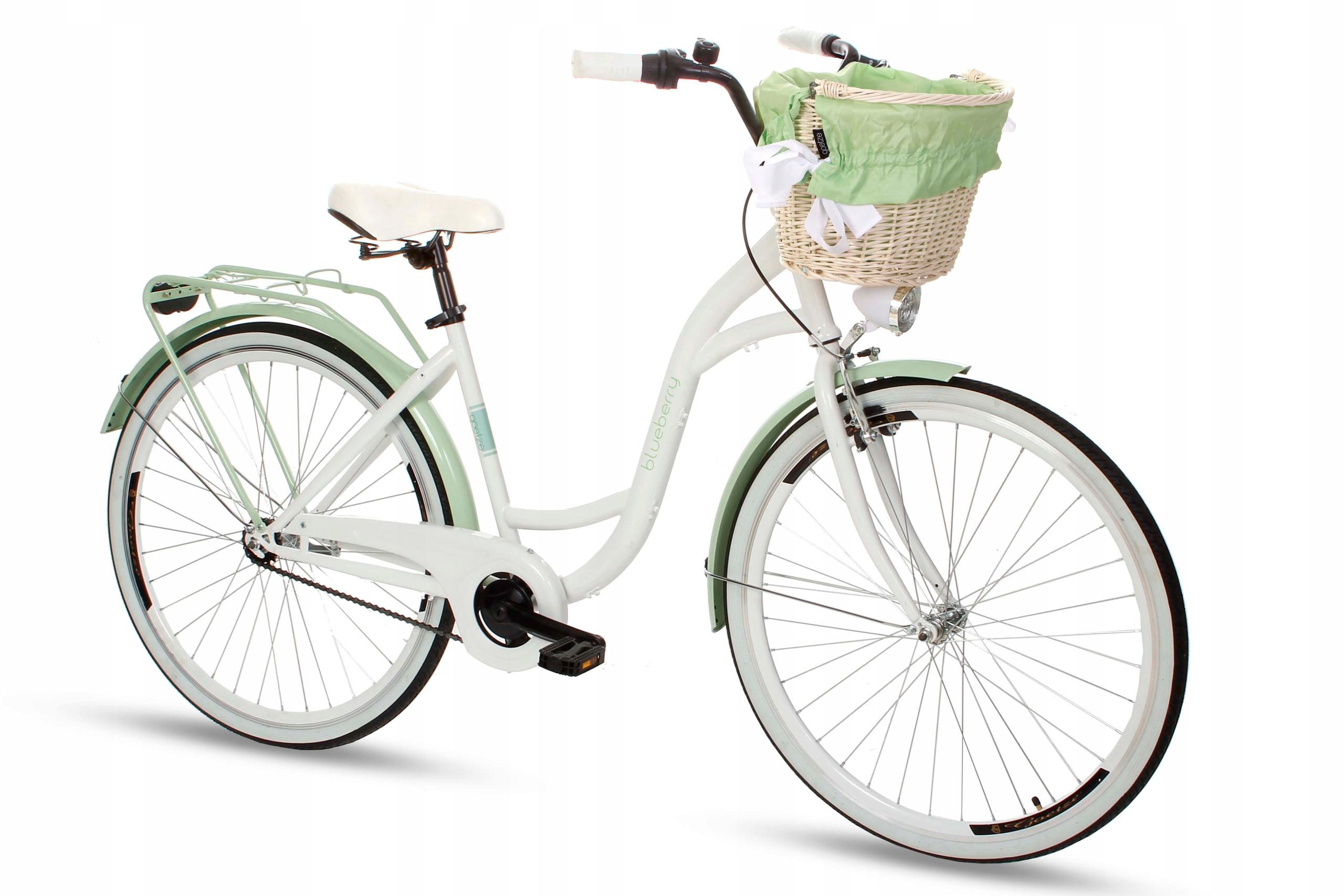 Dámsky mestský bicykel Goetze BLUEBERRY 28 košík!  Značka Goetze
