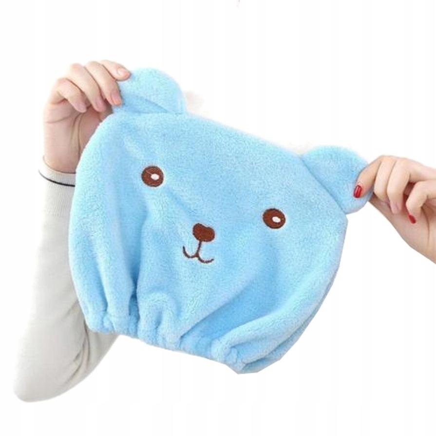Szybkoschnący ręcznik czepek do włosów 4w1 B915N Marka inna
