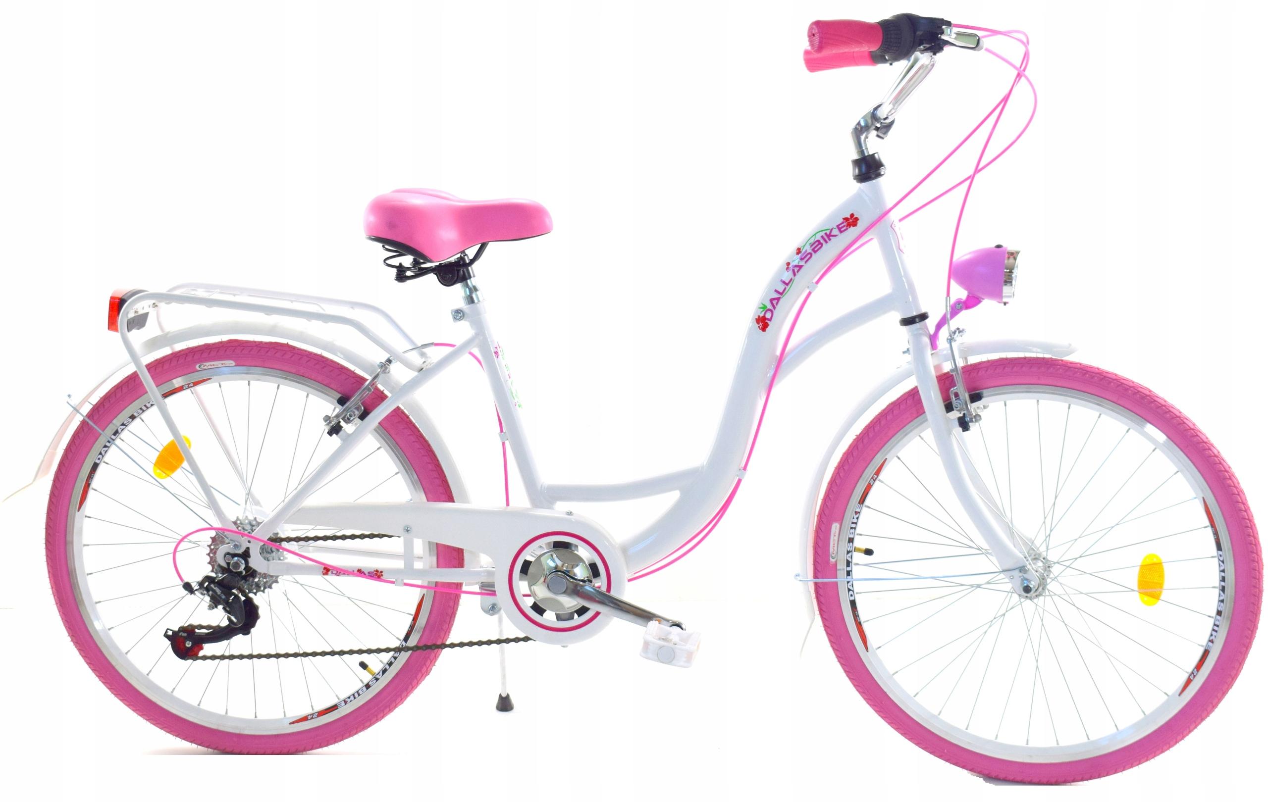 Bicykel pre dievča 26 prevodových stupňov Dallas na brzdy V-brzdy
