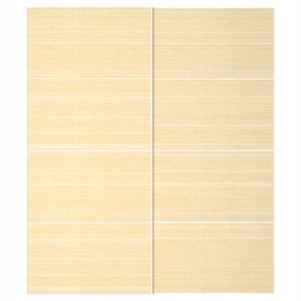IKEA FJELLHAMAR posuvné Dvere bambusu 200x236 cm