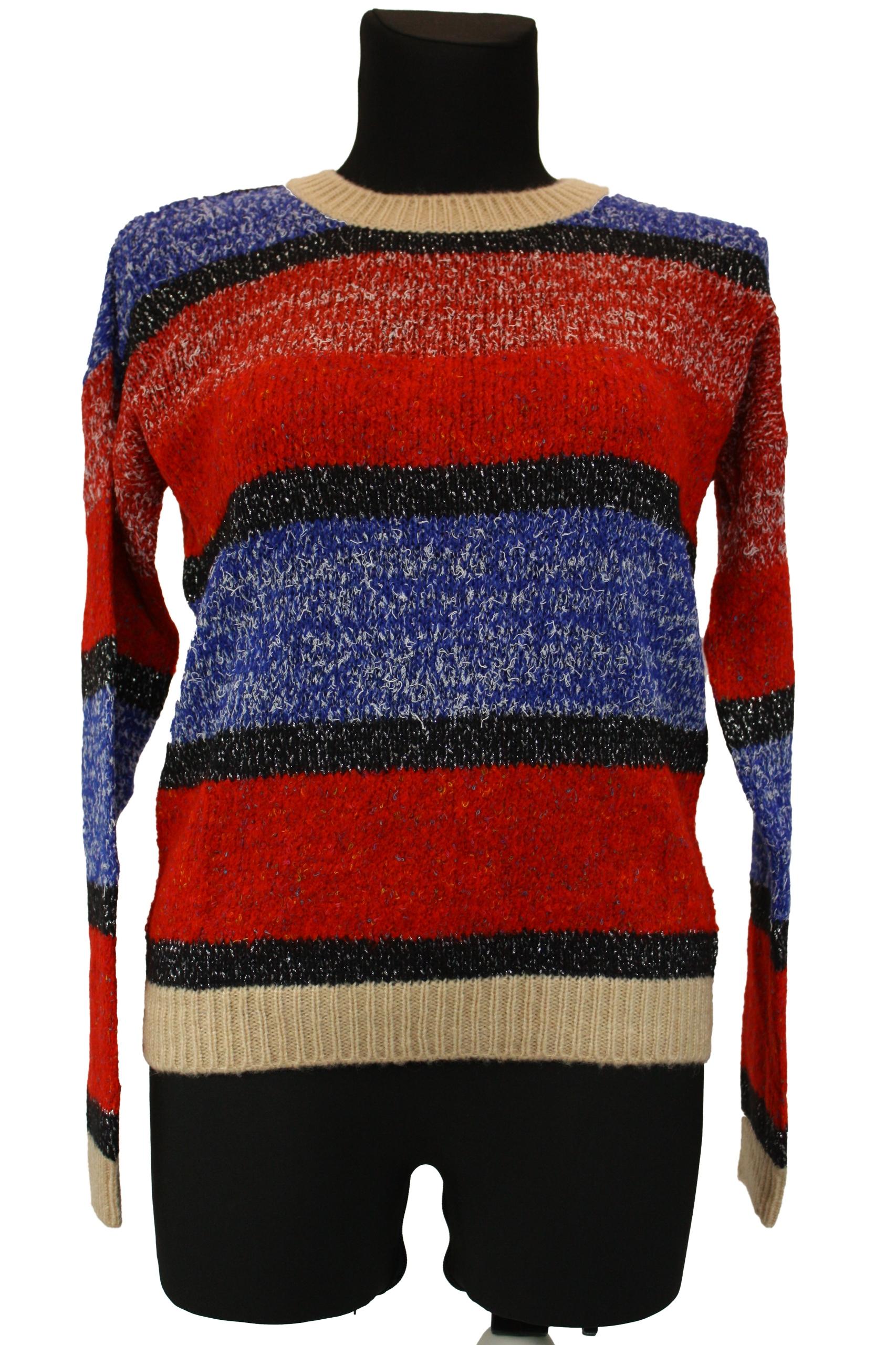 Dámsky nadrozmerný retro sveter SISLEY S