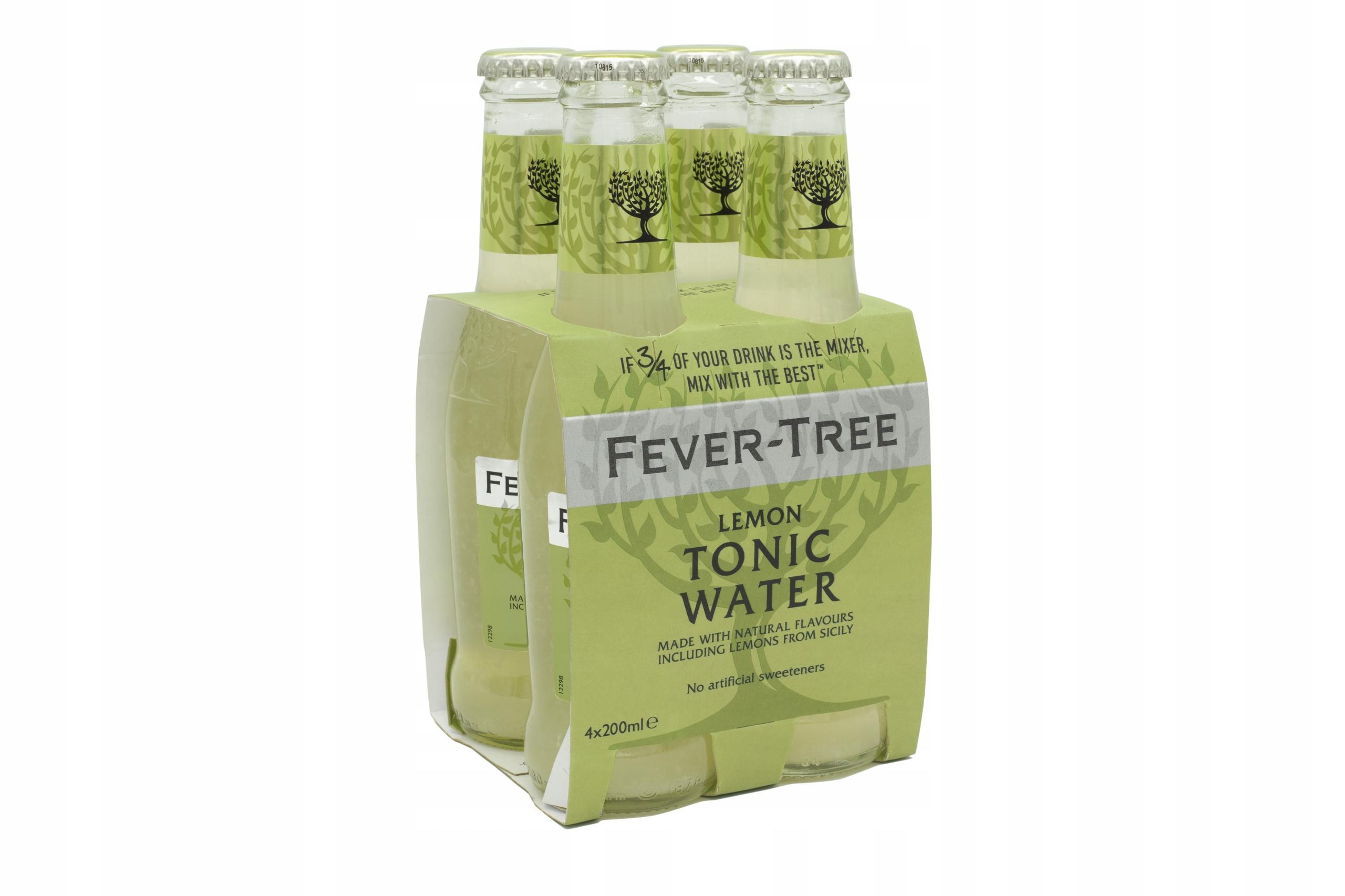 FEVER TREE TONIC Lemon 200 ml x 4 szt.