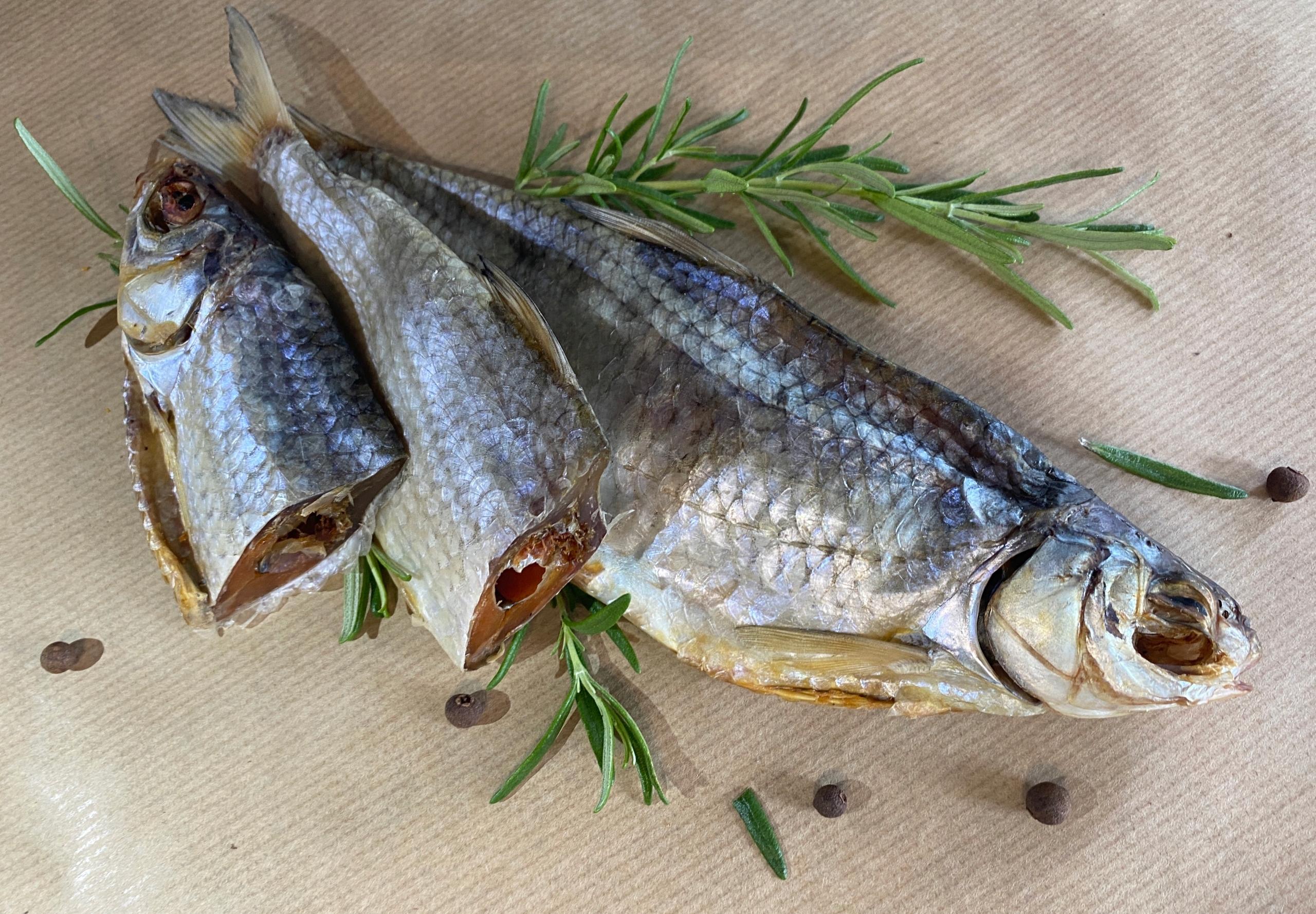 Вобла (каспийская плотва) Сушеная рыба 500-520 г