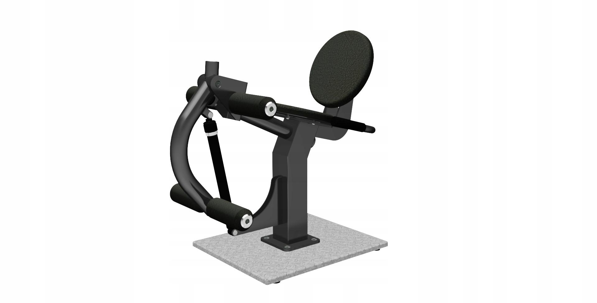 Hydro fitnes zariadenie - nohy v sede