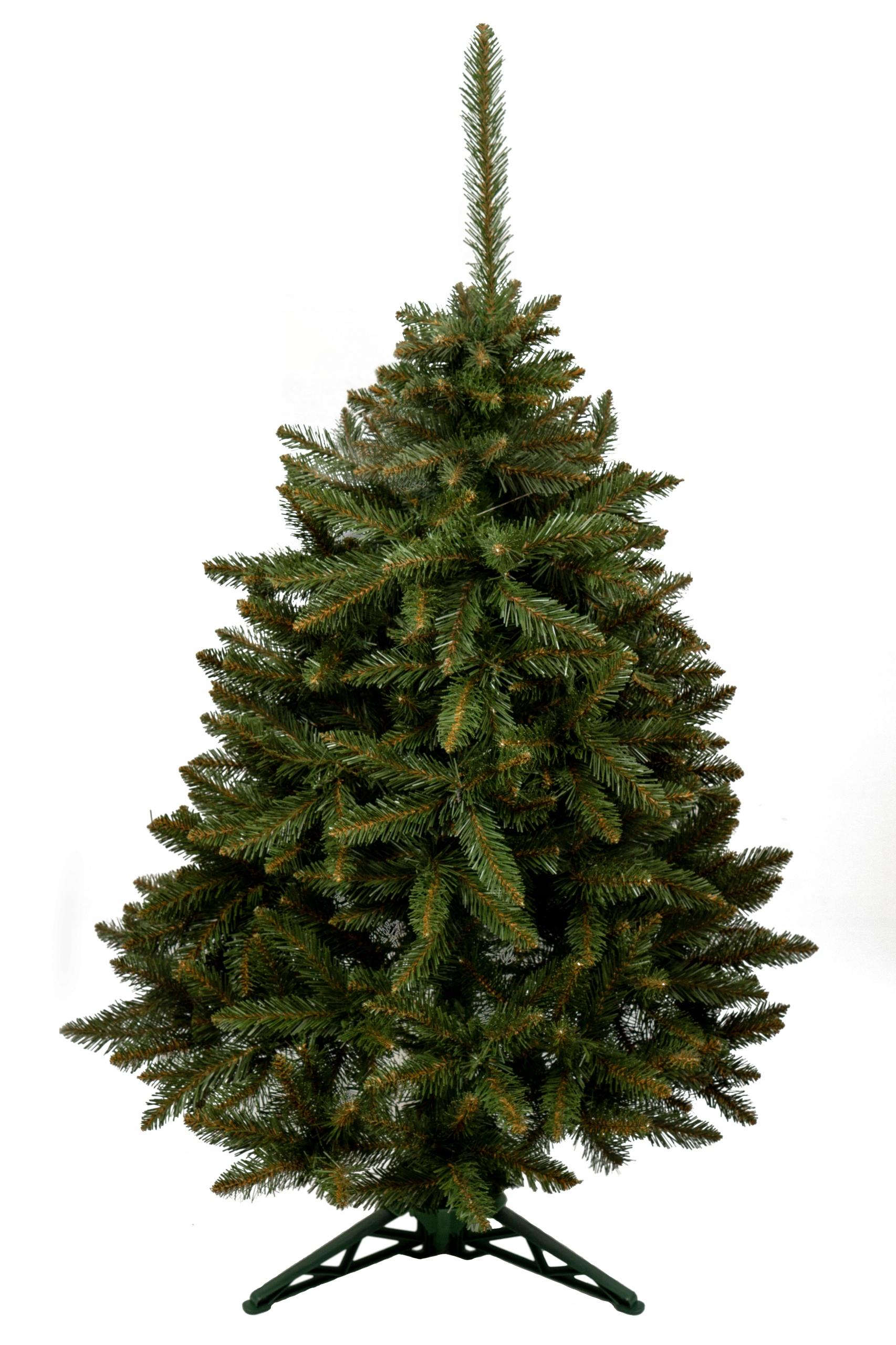 Umelý vianočný stromček na stojane PRÍRODNÝ SMREK 1,5 m