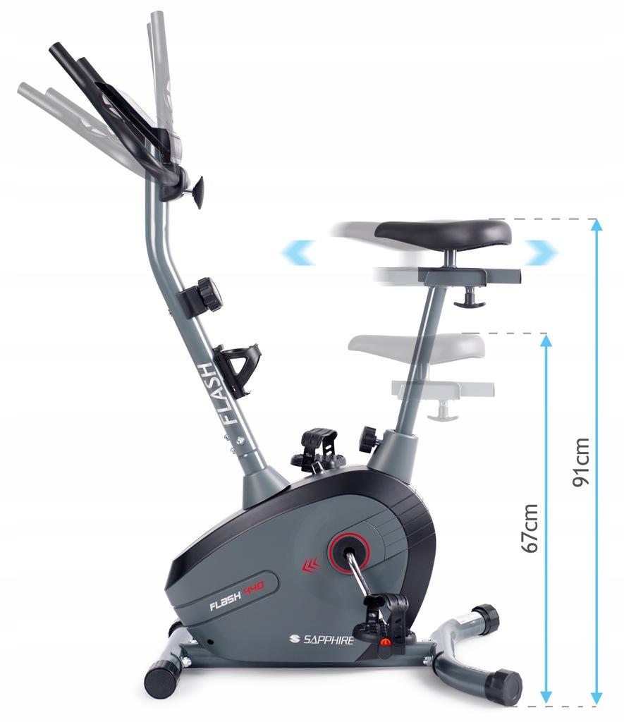 SG FLASH rower magnetyczny TRENINGOWY stacjonarny Kod producenta SG-440B