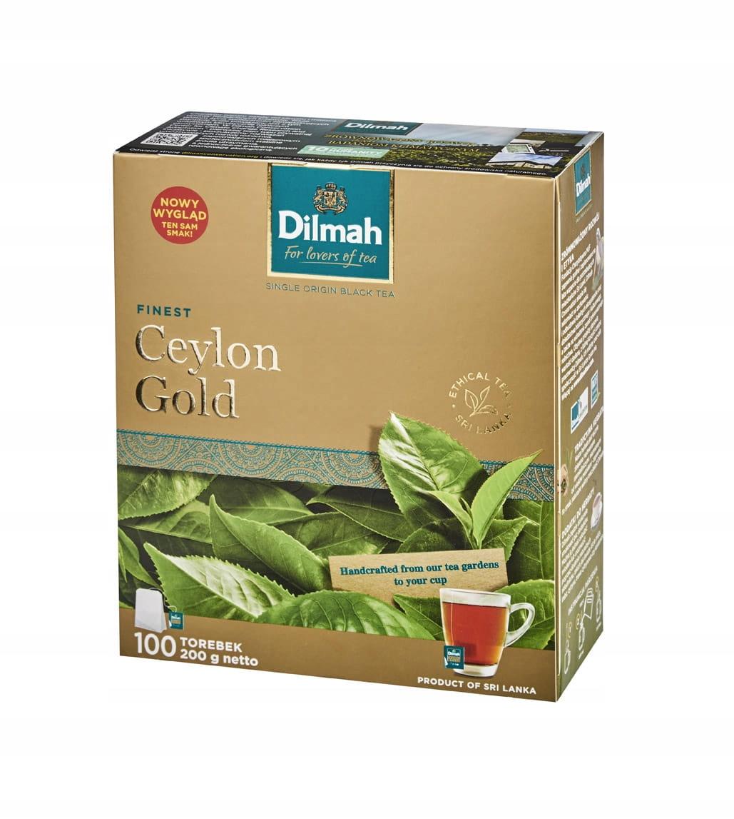 Dilmah Ceylon Gold Ex100 200г Цейлонский чай