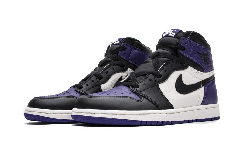 Air Jordan 1 OG Hi Retro Court Purple 555088-501