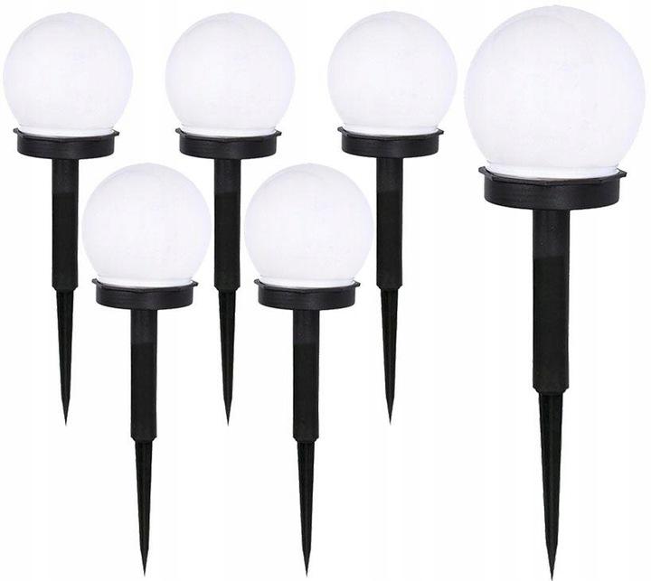 Lampa SOLARNA LED ogrodowa solar KULA 10 cm Cechy dodatkowe włącznik/wyłącznik wodoodporność