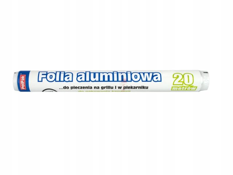 Фольга алюминиевая пищевая 20м