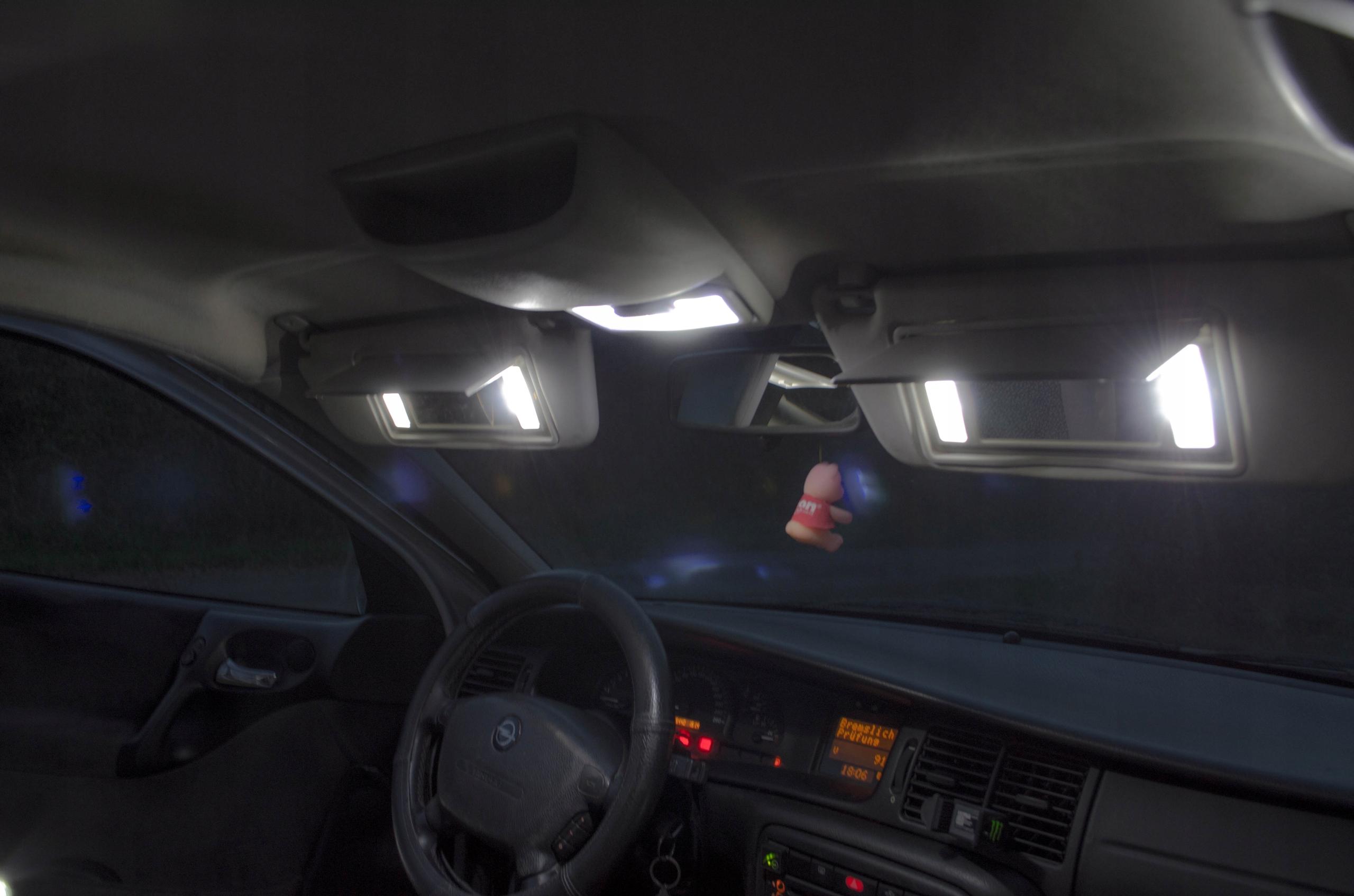 BMW E60 - Zestaw Oświetlenie wnętrza LED! VIP Liczba sztuk inna