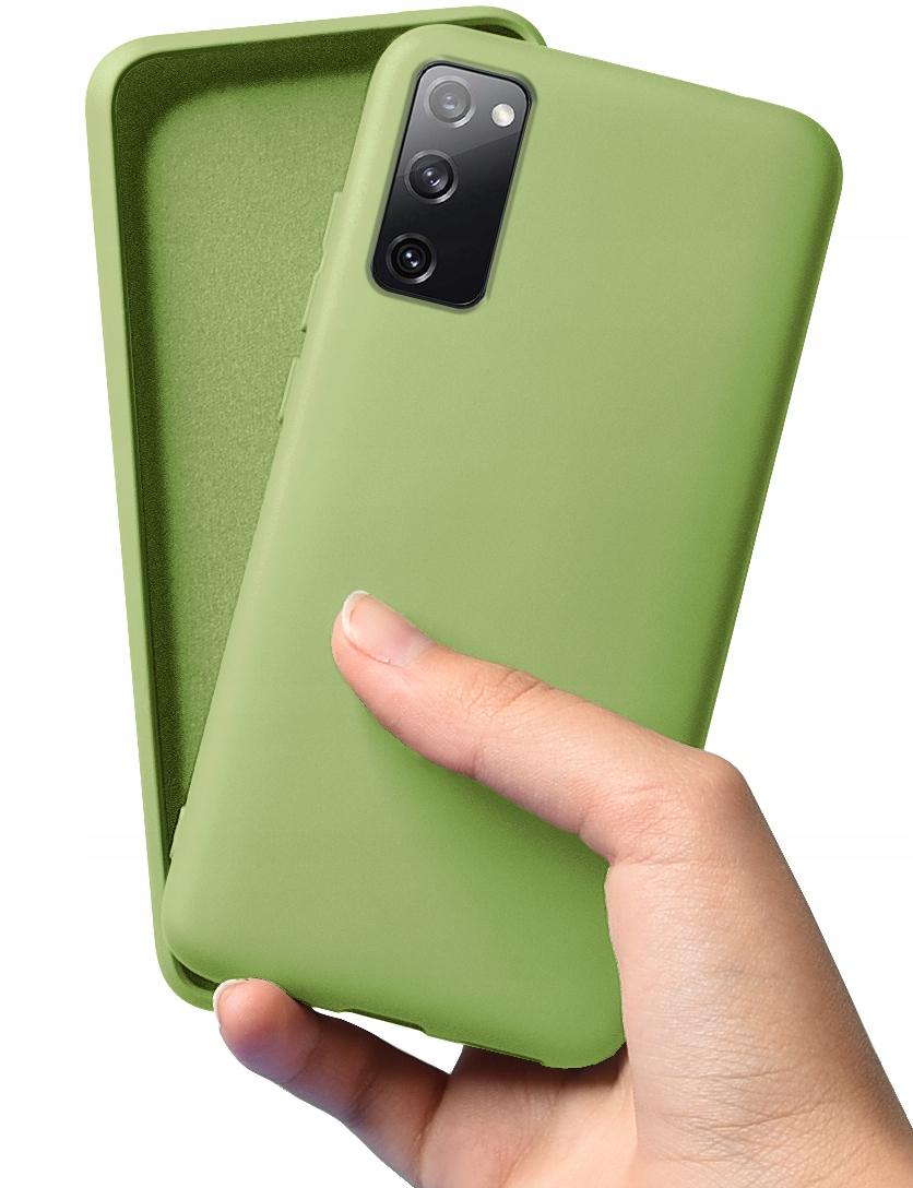 Etui do Samsung Galaxy S20 FE Case Silikon + Szkło Dedykowany model Samsung Galaxy S20 FE