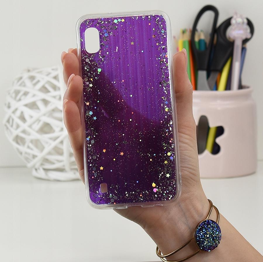 Etui do Samsung Galaxy A10 CASE BROKAT + SZKŁO 9H Dedykowany model Galaxy A10