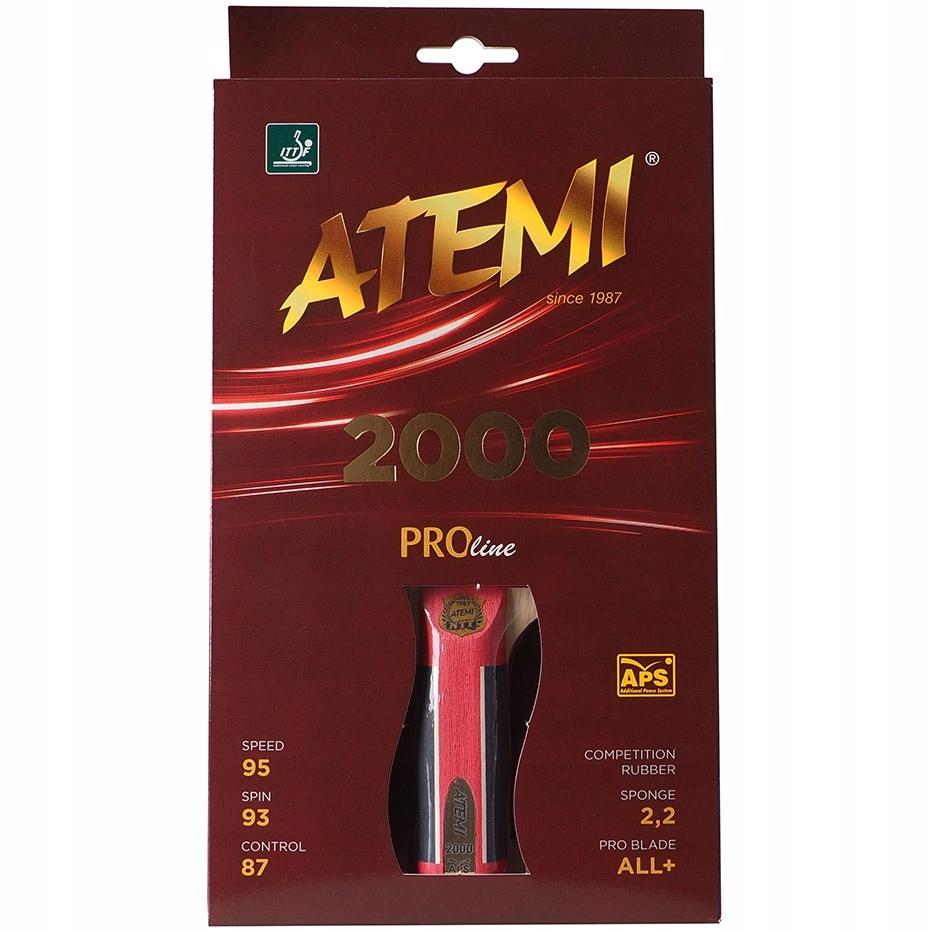 Ракетка для тенниса ATEMI CONCAVE 2000 для пинг-понга