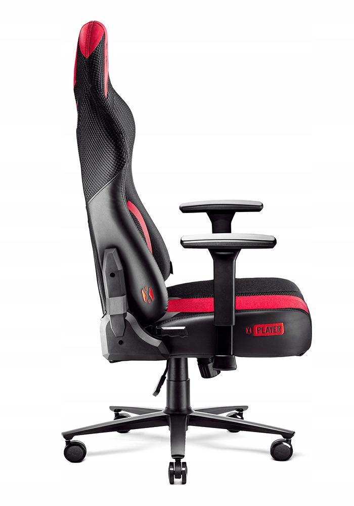ИГРОВОЕ кресло ДЛЯ DIABLO X-PLAYER KING Ширина мебели 72 см.
