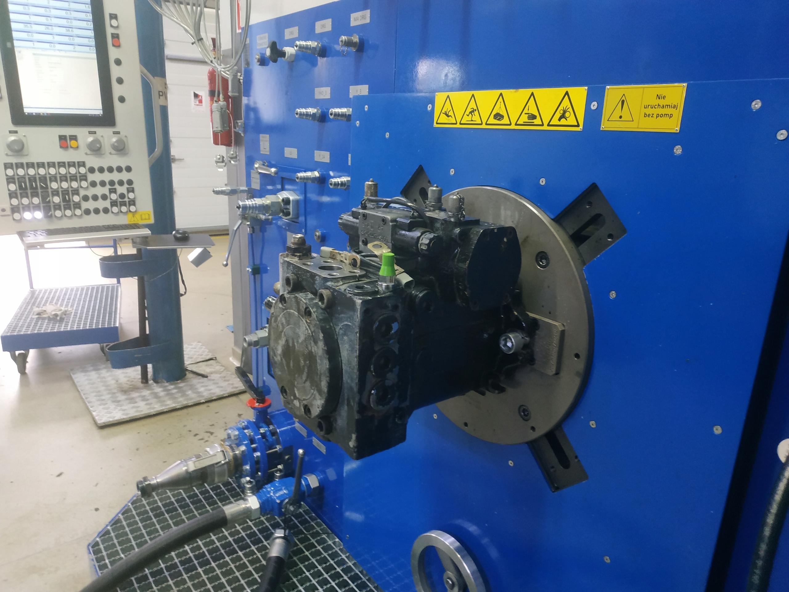 Гидравлический насос A4VG125 REXROTH после ремонта
