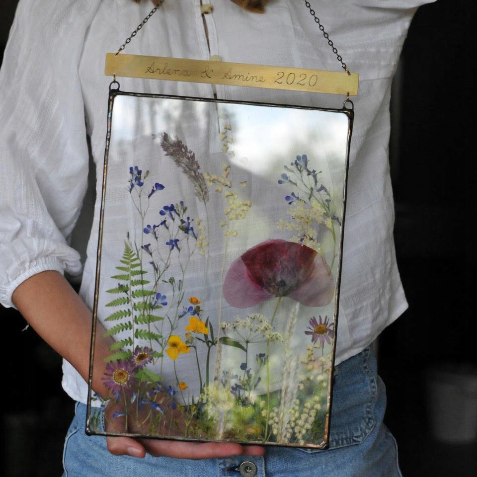 dekoracja A4, obraz naturalne kwiaty, obraz natura
