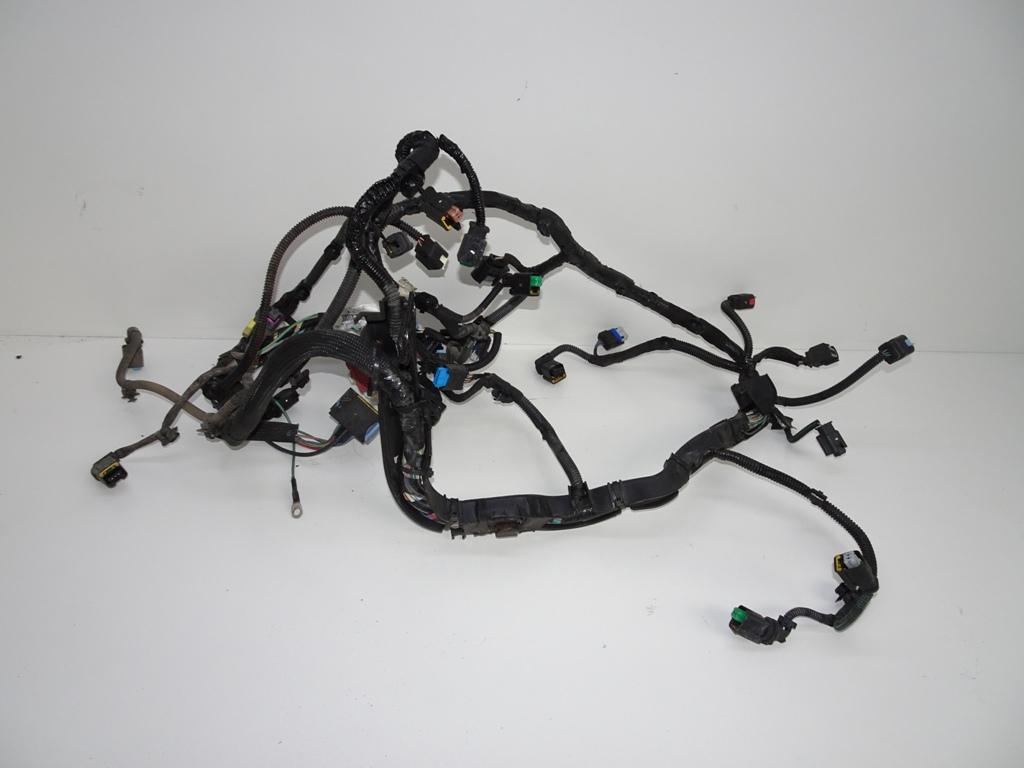 citroen peugeot установка жгут проводов двигателя 20 hdi