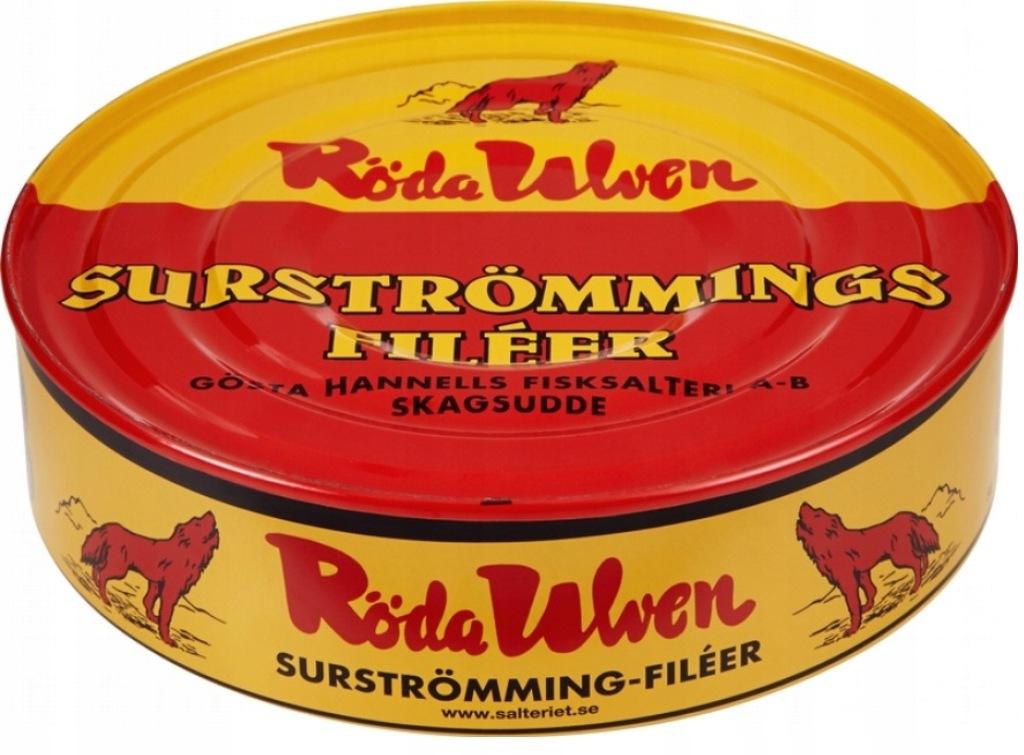 Surstromming Roda Ulven - filety kiszony śledź