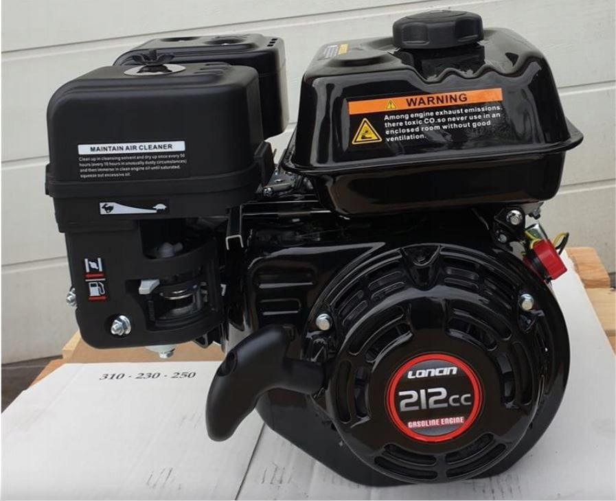 Silnik spalinowy LONCIN G200F, 7KM, wał 19 EURO 5