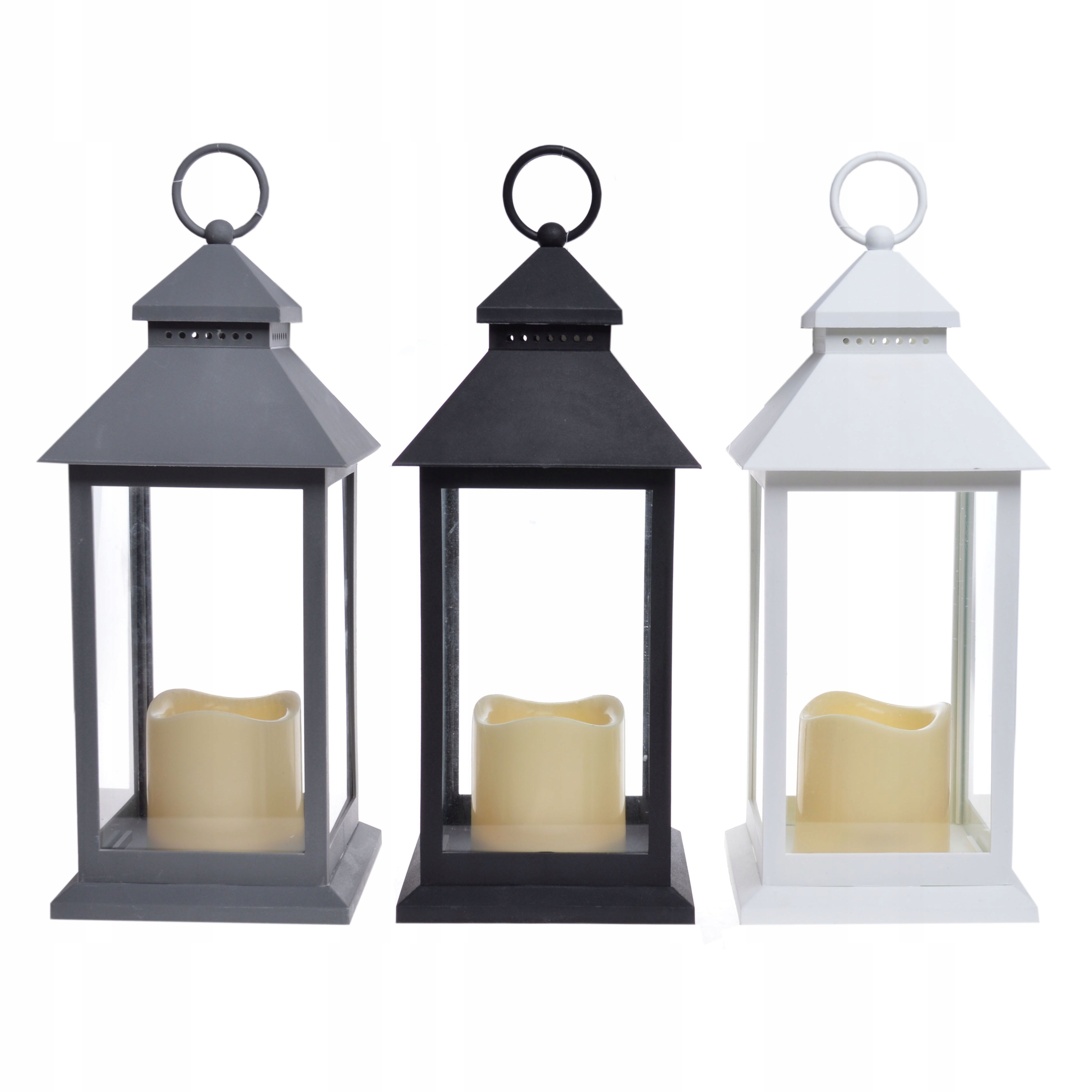 3 lampióny | 3 lampióny | LED lampáš | SADA