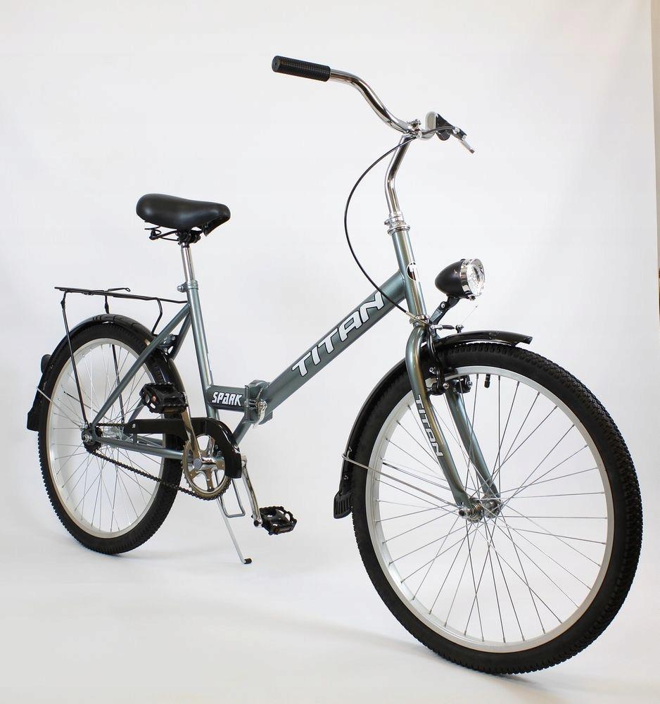 Klasický mestský bicykel Suwano TITAN, skladací 24 EAN 5902815472087