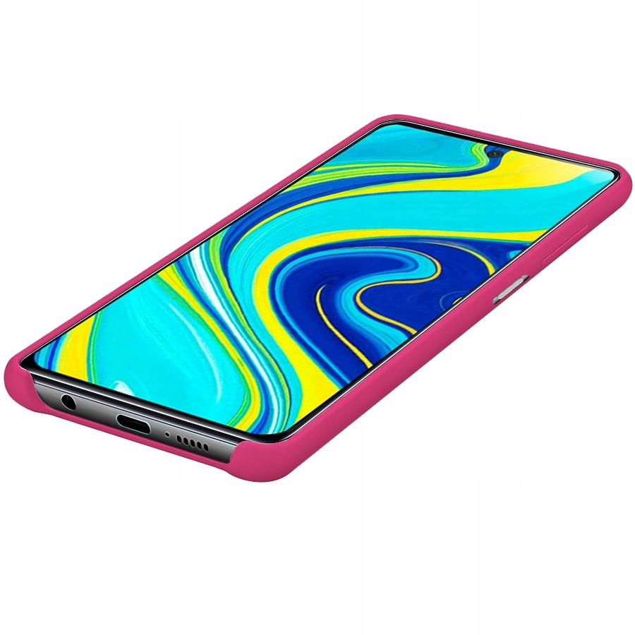 Etui do Xiaomi Redmi Note 9 Pro 9S Silikon + Szkło Kod producenta C198